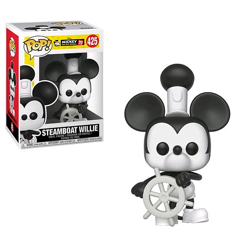 Mickey Mouse - 90th Steamboat Willie Pop! Vinyl