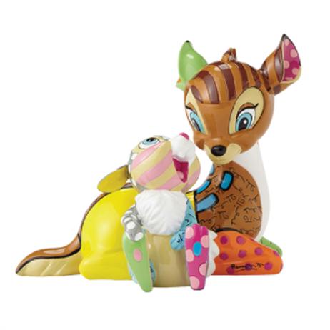 Disney Britto - Bambi and Thumper 75TH ANNIVERSARY FIGURINE