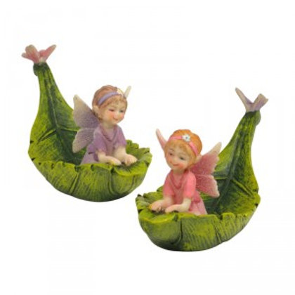 Fairy in Leaf Boat