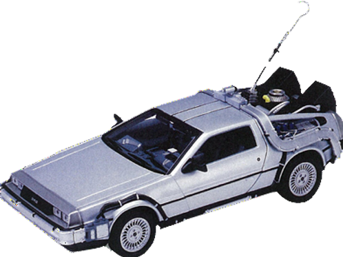 Back to the Future 1 - Delorean - Time Machine