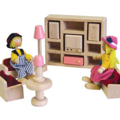 Doll House Furniture - Lounge Room