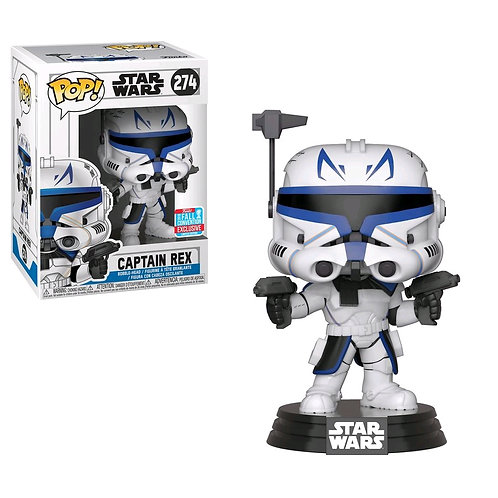 Star Wars: Clone Wars - Captain Rex NYCC 2018 Exclusive Pop! Vinyl [RS]