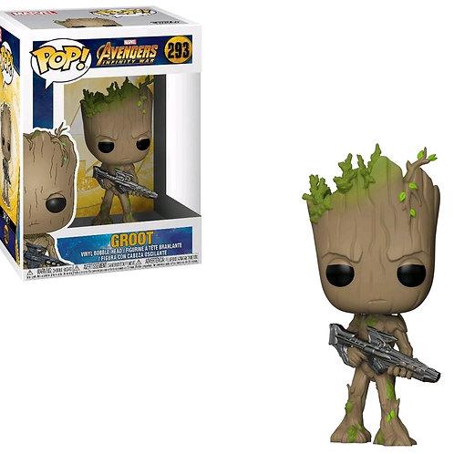 Avengers 3: Infinity War - Teen Groot with Gun Pop! Vinyl