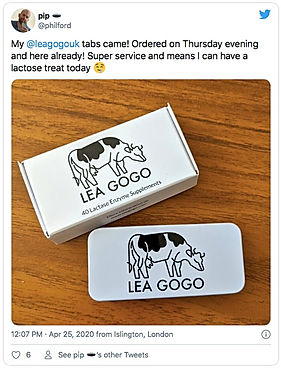 Lea Gogo Lactase Supplement Customer Review