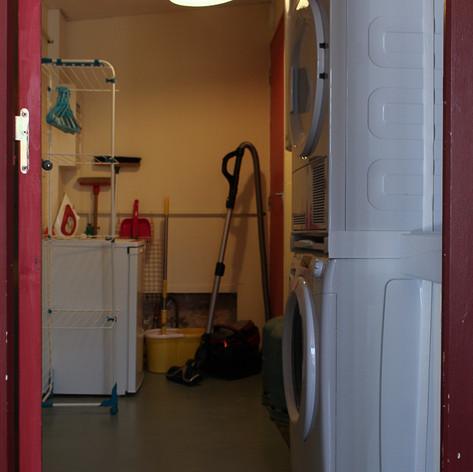 La laverie & Les sanitaires