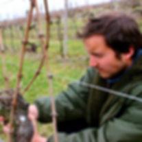 la grange de l'oncle Charles Jérôme FRANÇOIS Vins d'Alsace Bio Biodynamie