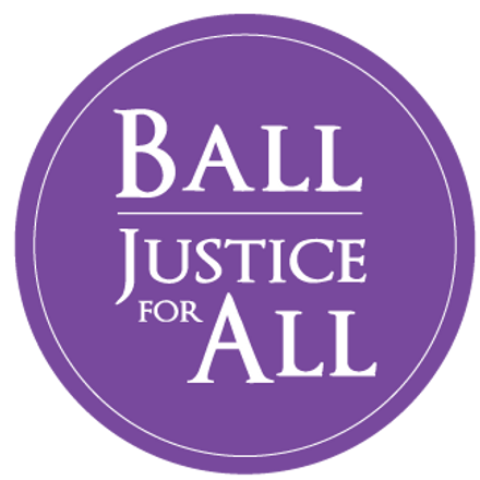Ball Justice for ALL logo Justice