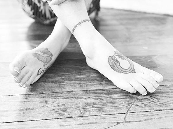 Barefoot or in Heels