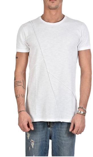 Stylisches T-Shirt in der Farbe weiss