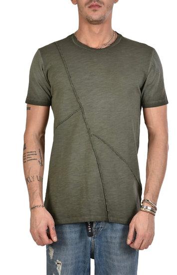 Stylisches T-Shirt in military grün