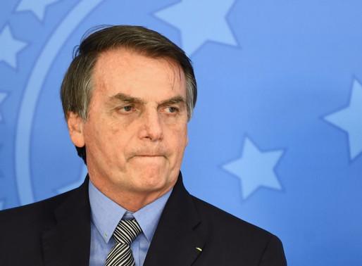 Bolsonaro: melhor avaliação em pesquisa desde sua posse