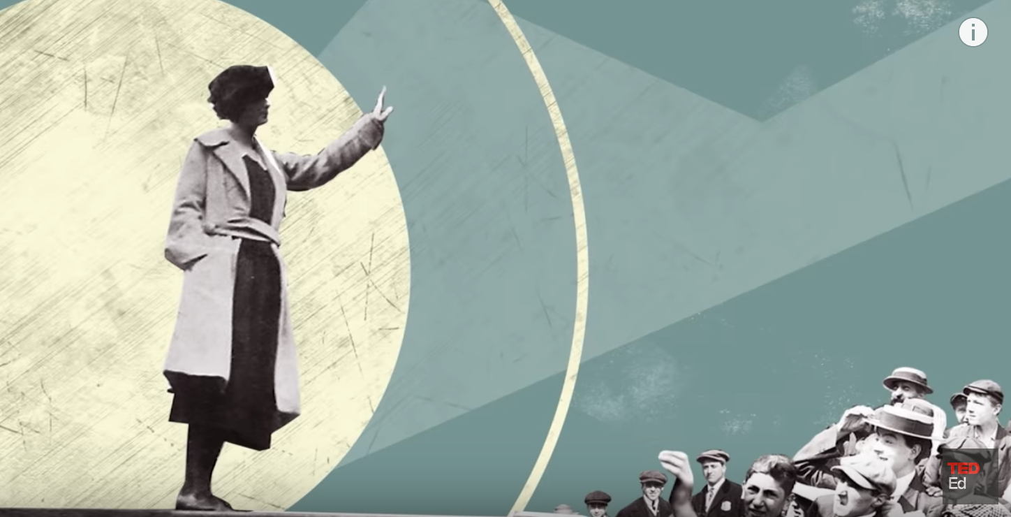 TED-Ed: Historic Women's Suffrage Ma