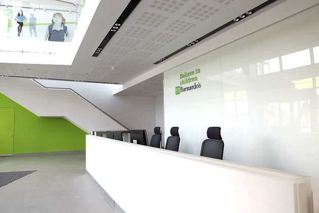 Barnardo's HQ Reception