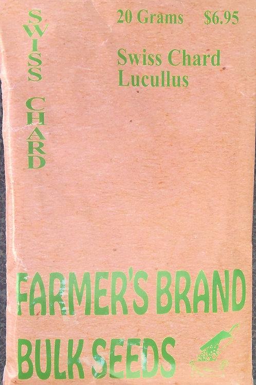 Swiss Chard Lucullus (Bulk Pack)
