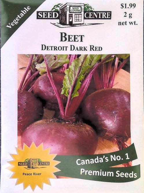 Beet Detroit Dark Red