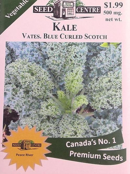 Kale Vates Blue Curled Scotch