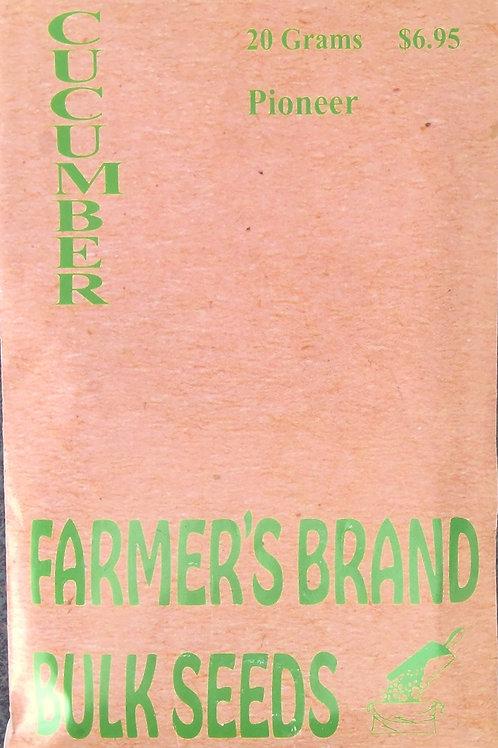Cucumber Pioneer F1 (Bulk Pack)