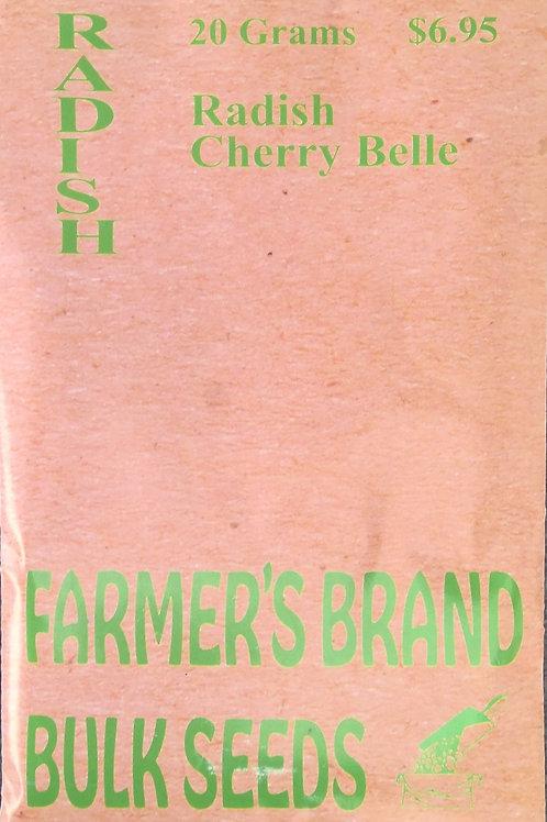 Radish Cherry Belle (Bulk Pack)