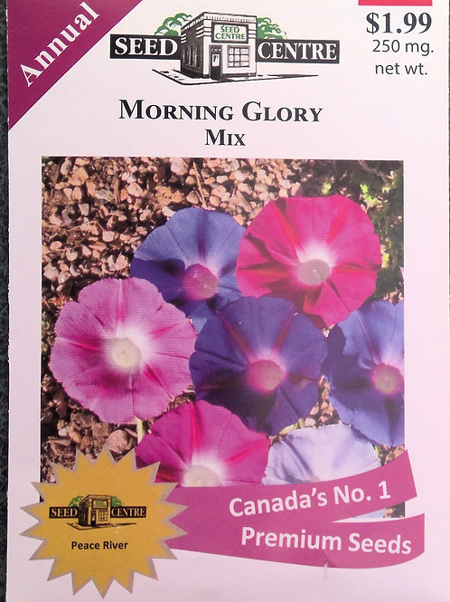 Morning Glory Mix (Annual Flower)