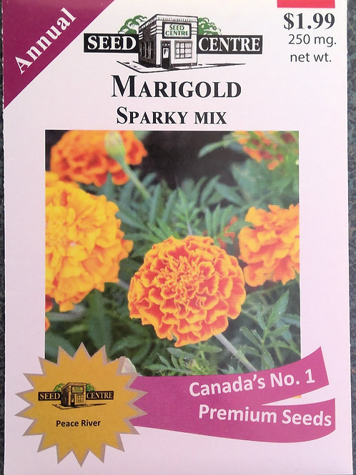 Marigold Sparky (Annual Flower)