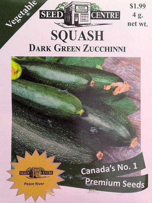 Squash Dark Green Zucchinni