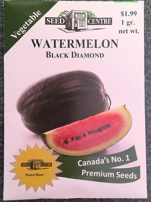 Watermelon Black Diamond