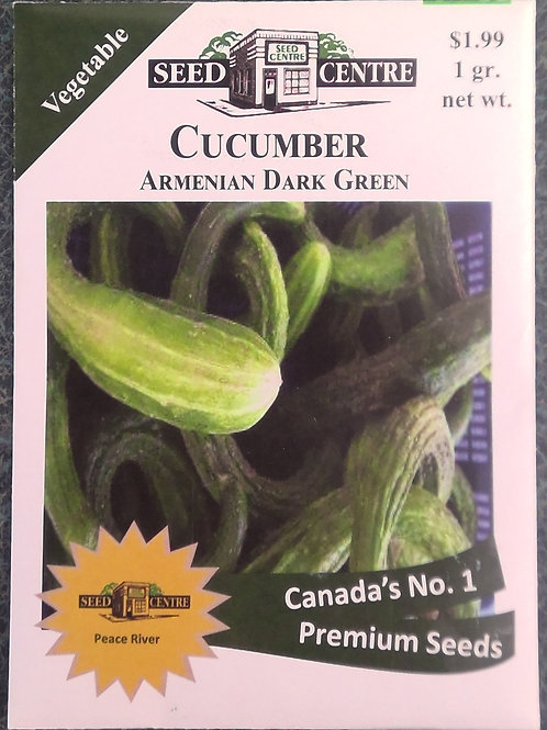 Cucumber Armenian Dark Green