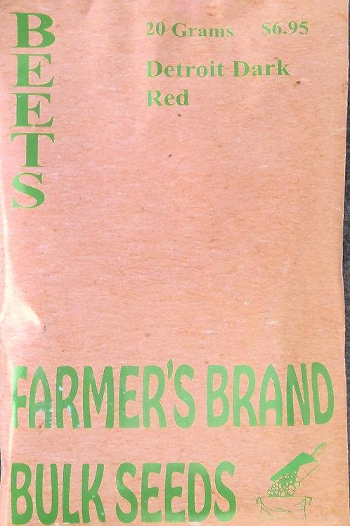 Beets Detroit Dark Red (Bulk Pack)