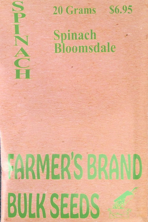 Spinach Bloomsdale (Bulk Pack)