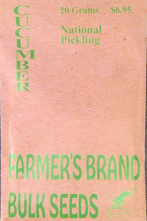 Cucumber National Pickling (Bulk Pack)