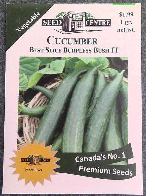 Cucumber Best Slice Burpless Bush F1