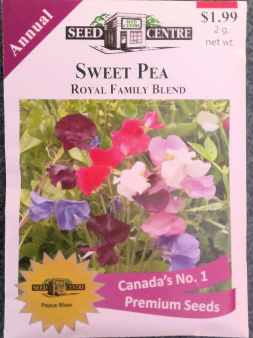 Sweet Pea Royal Family Blend (Annual Flower)