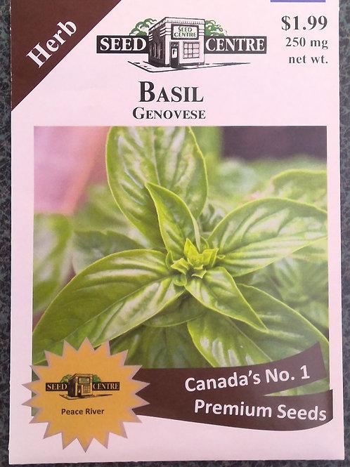 Basil Genovese (Herb)