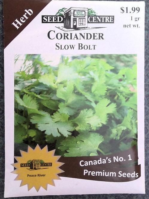 Coriander Slow Bolt (Herb)