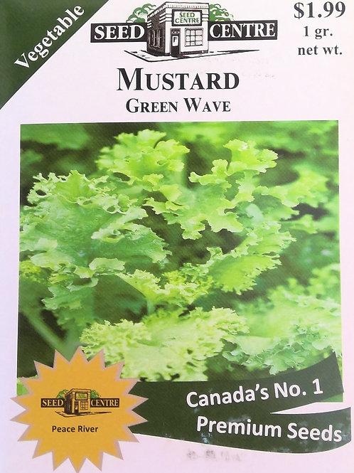 Mustard Green Wave