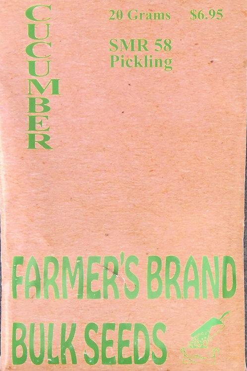 Cucumber SMR 58 Pickling (Bulk Pack)