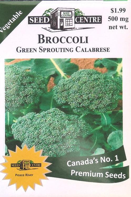 Broccoli Green Sprouting Calabrese
