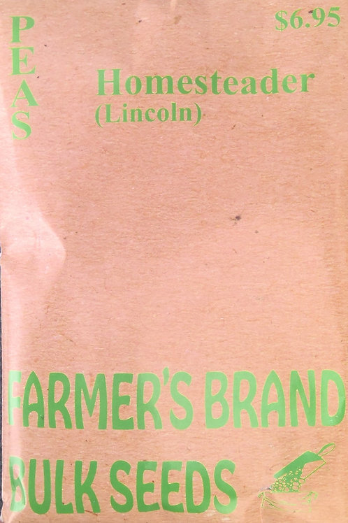 Peas Homesteader Lincoln (Bulk Pack)