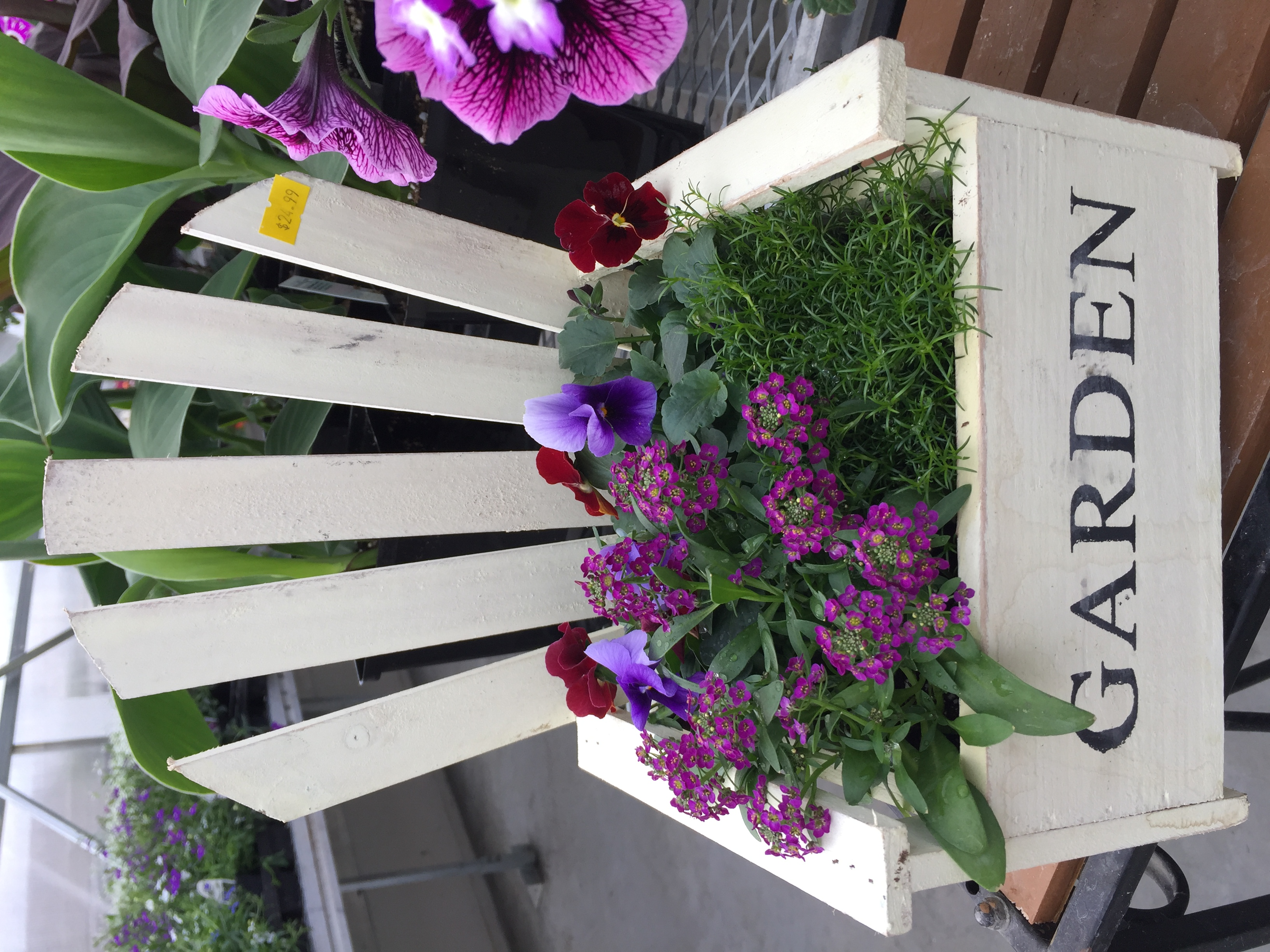 Mothers Day Mini Chair Planter