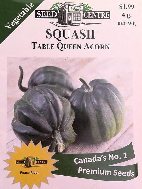Squash Table Queen Acorn