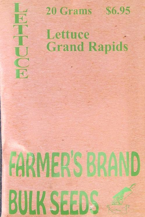 Lettuce Grand Rapids (Bulk Pack)