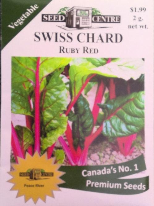 Swiss Chard Ruby Red