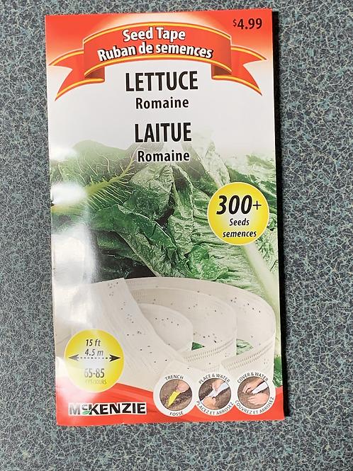 Romaine Lettuce (Seed Tape)
