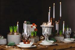 Concrete effect wedding cake