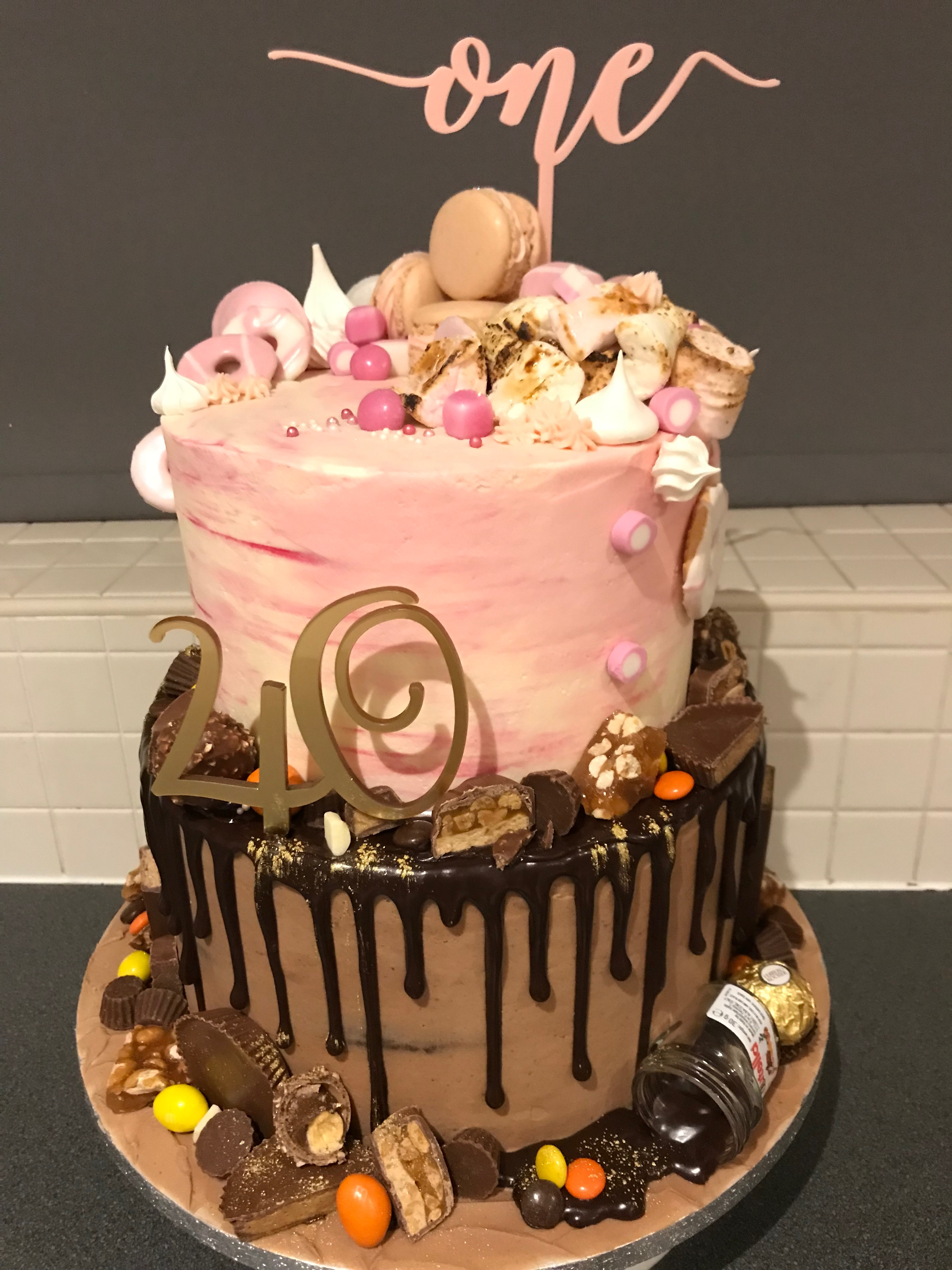 Joint birthday cake