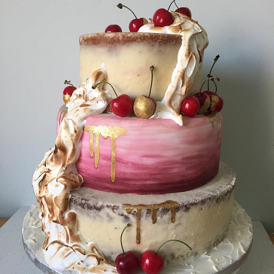Wedding Cake Semi Naked