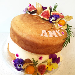 Lemon & Rosemary OliveOil Vegan cake