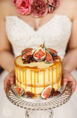 Salted Caramel Wedding Cake