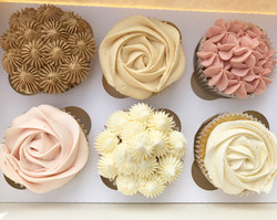 Pretty assorted cupcakes