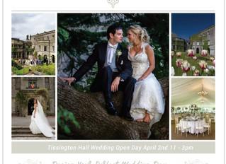 Tissington Hall Wedding Open Day